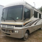 2004 FLEETWOOD BOUNDER MOTORHOME USED RV PARTS, BOUNDER ENTRANCE DOOR