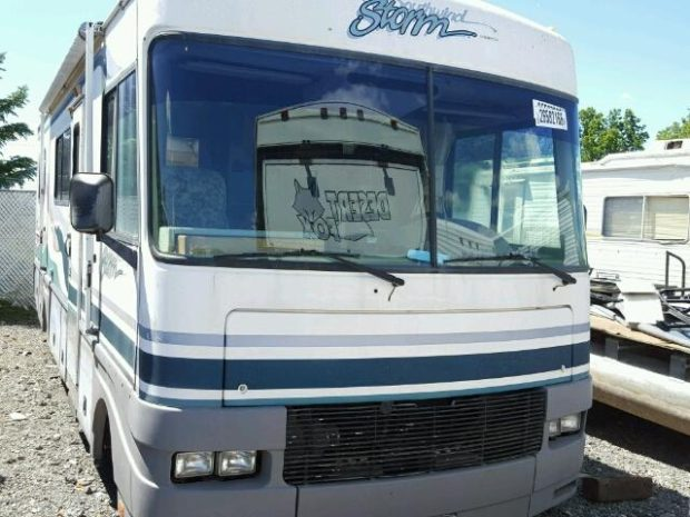 1998 Fleetwood RV Parts Storm Salvage Motorhome